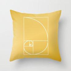 That's Golden II Throw Pillow