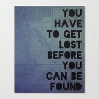 Lost And Found Canvas Print