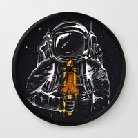Space Popscicle Wall Clock