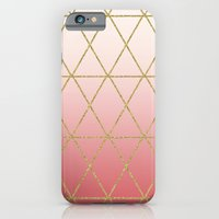 Rose Gold Geometric iPhone 6 Slim Case