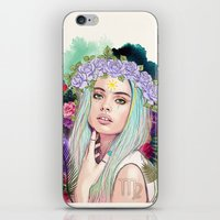 Virgo iPhone & iPod Skin