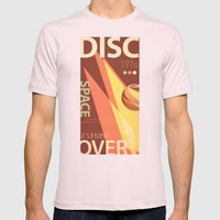 Vintage Space Poster Series II - Discover Space - It's a Blast! Mens Fitted Tee Light Pink SMALL