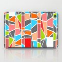 Color mosaic iPad Case