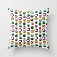 Scratch And Sniff Throw Pillow