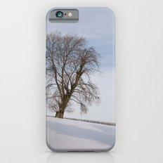 In white iPhone 6 Slim Case