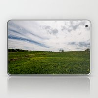 On Fields of Yellow and Green Laptop & iPad Skin