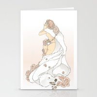 Nouveau Romance Stationery Cards