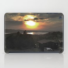 Sunset and Cabin iPad Case