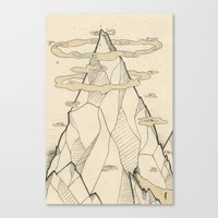 Ray Hope Mountain Canvas Print