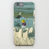 iPhone & iPod Case featuring It's better at the beach #2 by Mary Kilbreath