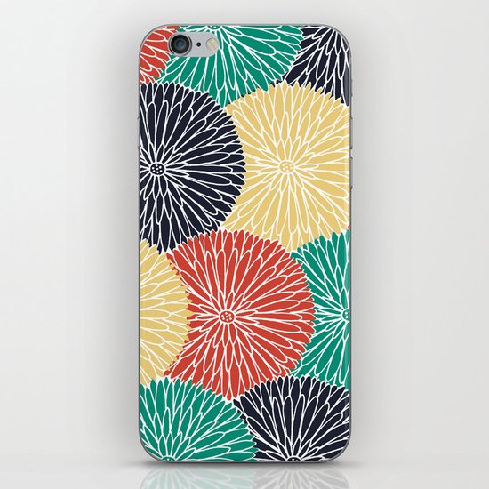 Flower Infusion 2 iPhone & iPod Skin