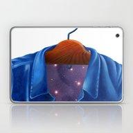 Universe In A Jacket Jea… Laptop & iPad Skin