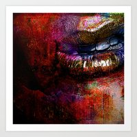 Nothing To Say (With Ganech Joe) Art Print