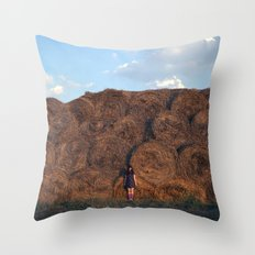 heyloft sunset Throw Pillow