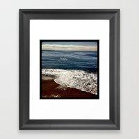 Seaside.  Framed Art Print
