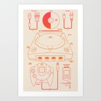 Dream Machine Art Print