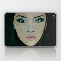 THE EURASIAN GIRL Laptop & iPad Skin
