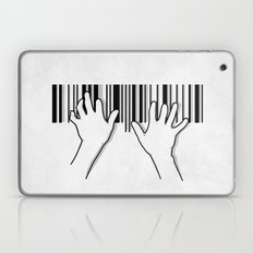 Barcode pianist Laptop & iPad Skin