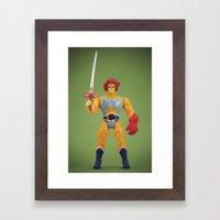 Ho! Framed Art Print