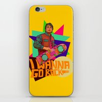 I Wanna Go Back!  |  Hoverboard  |  80's Inspiration iPhone & iPod Skin