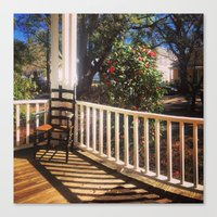 On Sunday, in the South Canvas Print