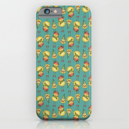 Two Chicks Pattern iPhone & iPod Case