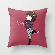 Touch Me ! Throw Pillow