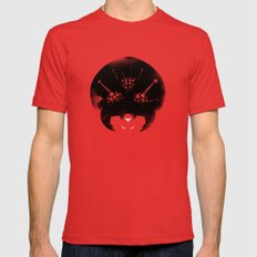 Super Metroid Mens Fitted Tee Red SMALL