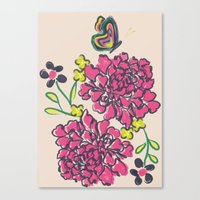 budding love Canvas Print