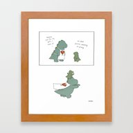 Super Dad Framed Art Print