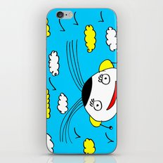 The blue sky iPhone & iPod Skin