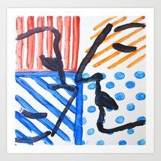 yinyang Art Print