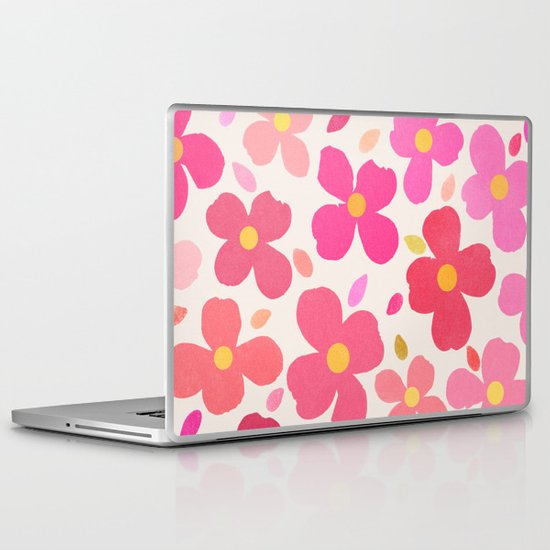 Dogwood Pink Laptop & iPad Skin