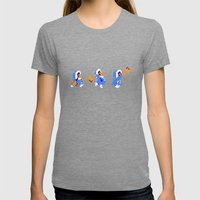 Ice Climber Womens Fitted Tee Tri-Grey SMALL