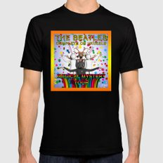 Magical Mystery Tour Black SMALL Mens Fitted Tee