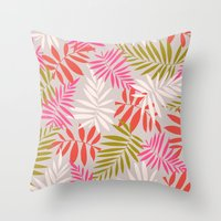 Tropical fell Throw Pillow