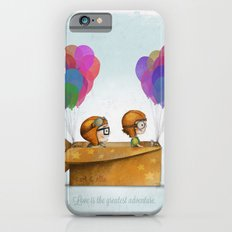 UP Pixar — Love is the greatest adventure  iPhone 6 Slim Case
