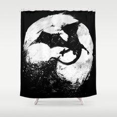 Midnight Desolation Shower Curtain
