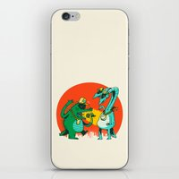 Kaiju Rap Battle iPhone & iPod Skin