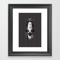 Keke Rosberg, Porsche 956, 1983 Framed Art Print