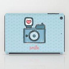 Blue Smile iPad Case