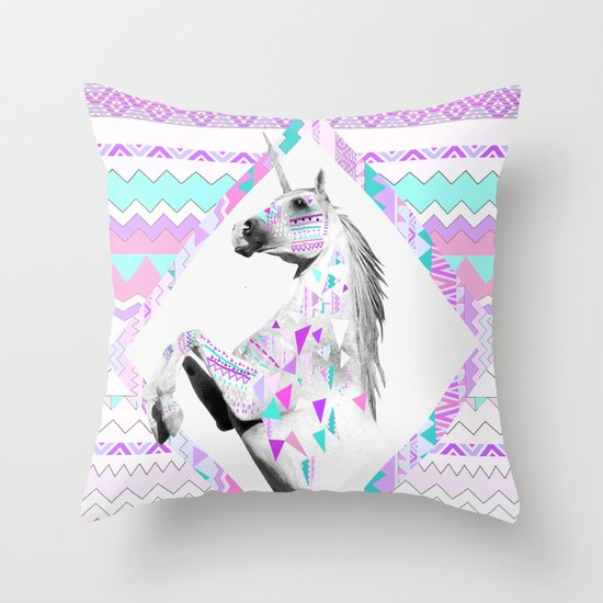 TWIN SHADOW by Vasare Nar and Kris Tate Throw Pillow