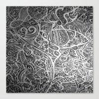 Silver Vivid  Canvas Print