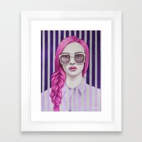 Close Up 11 Framed Art Print