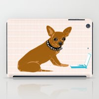 Chihuahua Dog As An IT T… iPad Case