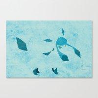 Glacion Canvas Print