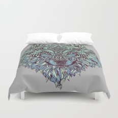 Wolf (Lone) Duvet Cover