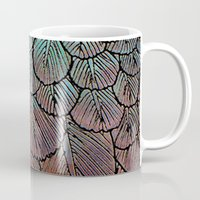 Feather Detail Mug