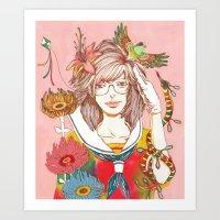 Nirvana Art Print