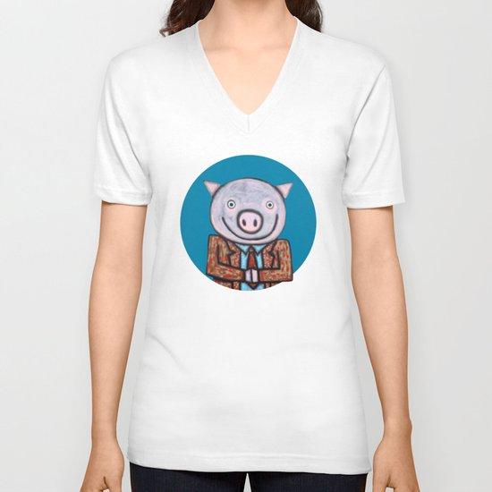 Mr.Mayor V-neck T-shirt